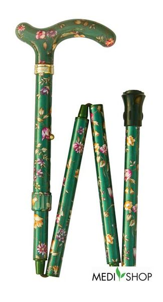 Classic Canes Green Floral Petite